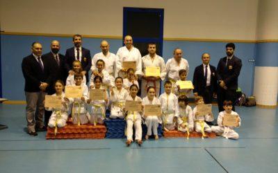 Club deportivo NIHON TAI-JITSU, premio al mérito deportivo.