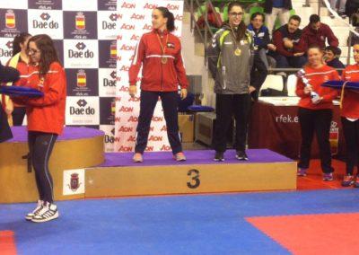 Campeonato de España Cadete, Junior y Sub-21, 2014