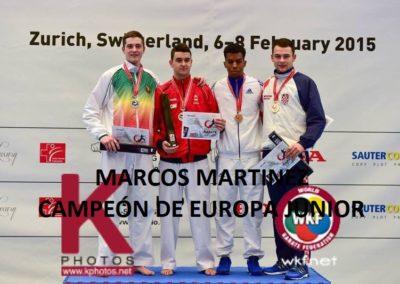 Campeonato de Europa Junior 2015
