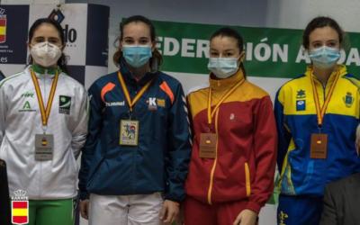 Carmen García Rodríguez convocada por la Federación Española de Karate