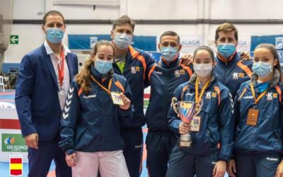 Aragón obtiene 6 metales en el Campeonato de España Cadete, Junior y Sub-21