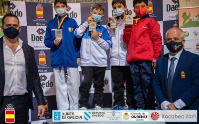 Medallas para Aragón en el campeonato de España de Karate en categoría infantil