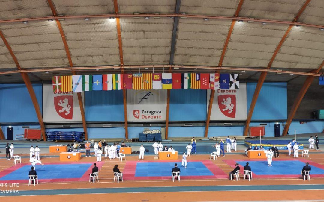 Resultados y medallero de los XXXVIII Juegos Escolares de Aragón de Karate