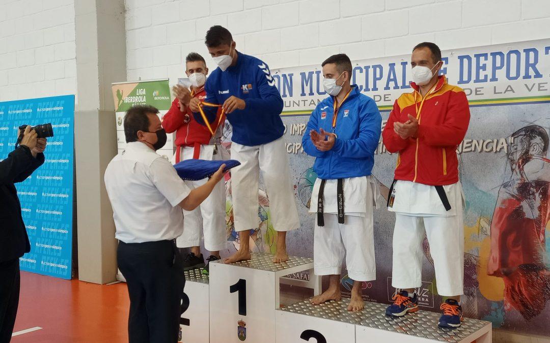 Oro para Alberto Montero Latorre en el campeonato de España de Veteranos